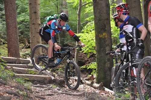 Biken am Gehrenberg